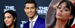 Bilderna på Ronaldos flickvän väcker frågor