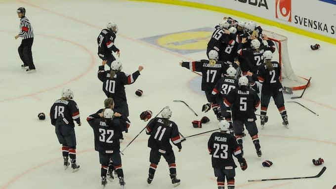 USA:s damlandslag i ishockey. Foto: IMAGO SPORTFOTODIENST / IMAGO/NPH IMAGO SPORTFOTODIENST