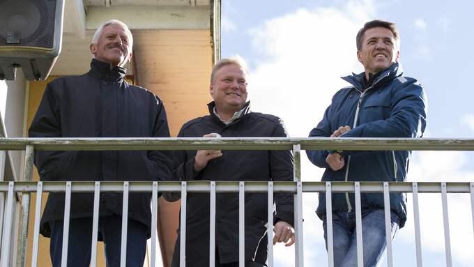 En trio med mycket makt i IFK Göteborg. Foto: MICHAEL ERICHSEN