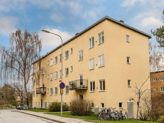 Den lilla minitvåan ligger på Telefonplan i Stockholm.