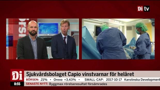 Sjukvårdsbolaget Capio vinstvarnar för helåret