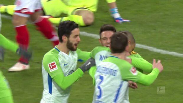 Quaison startade när Mainz spelade lika med Wolfsburg