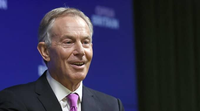 Tony Blair har tidigare visat starkt stöd för delar av USA:s utrikespolitik. Foto: Victoria Jones / AP TT NYHETSBYRÅN