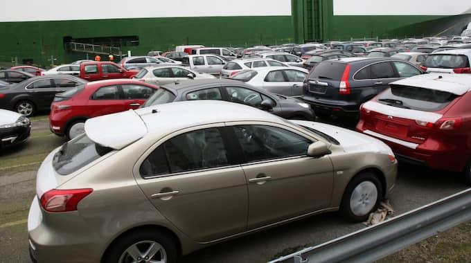 Överlägset värst drabbade bilmärket är BMW. 61 procent av stölderna förra året skedde i en BMW. Foto: Tomas Leprince / KVP