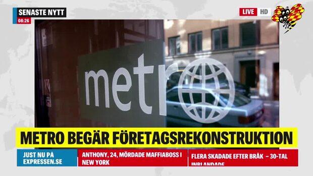 Metros ägare planerar att stämma Kinnevik