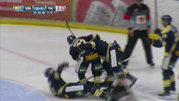 HIGHLIGHTS: Södertälje-Timrå 3-1