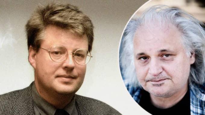 Göran Greider skriver att han är fascinerad över att författaren Stieg Larssons långa socialistiska och marxistiska historia knappast aldrig nämns någonstans. Foto: Jan Collsiöö och Axel Öberg