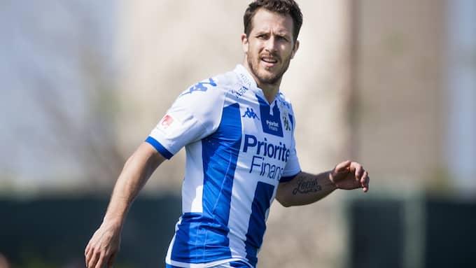 Tobias Hysén har gjort fyra mål på lika många träningsmatcher i år. Foto: LUDVIG THUNMAN