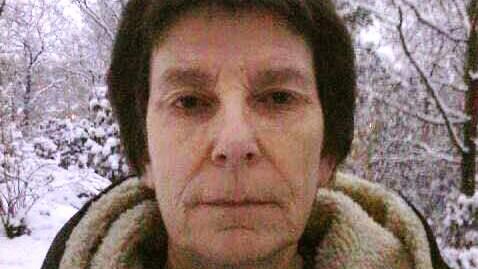 Christina Schönewald, 63, hamnade mitt i knivdramat. Foto: PRIVAT