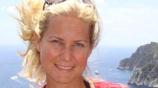 Camilla Worsley drabbades av en hjärtinfarkt – 44 år ung. Foto: PRIVAT
