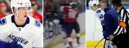 Straffas av NHL efter överfallet