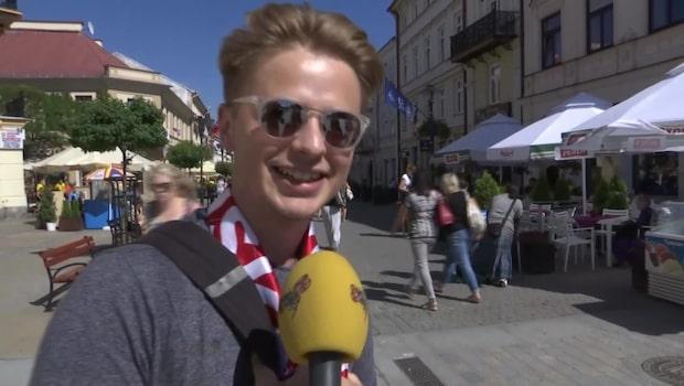 Slovakens passning till svenska fansen