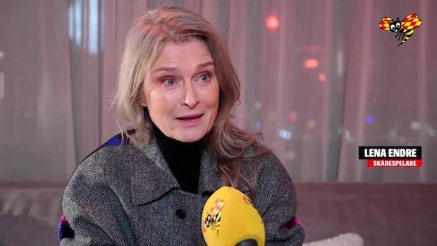 """Lena Endre om sitt klimatuppvaknande: """"Otroligt uppskakande"""""""