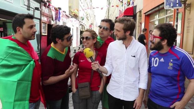 """Portugisiska supportrar: """"Vem är Greizmann?"""""""