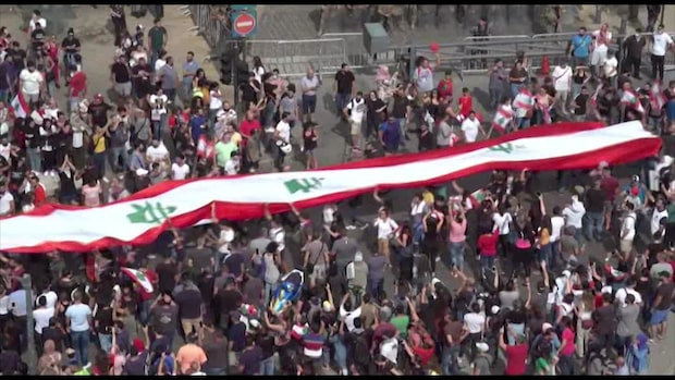 Massrevolt har pågått i fyra dagar i Libanon