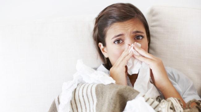 blir aldrig frisk från förkylning