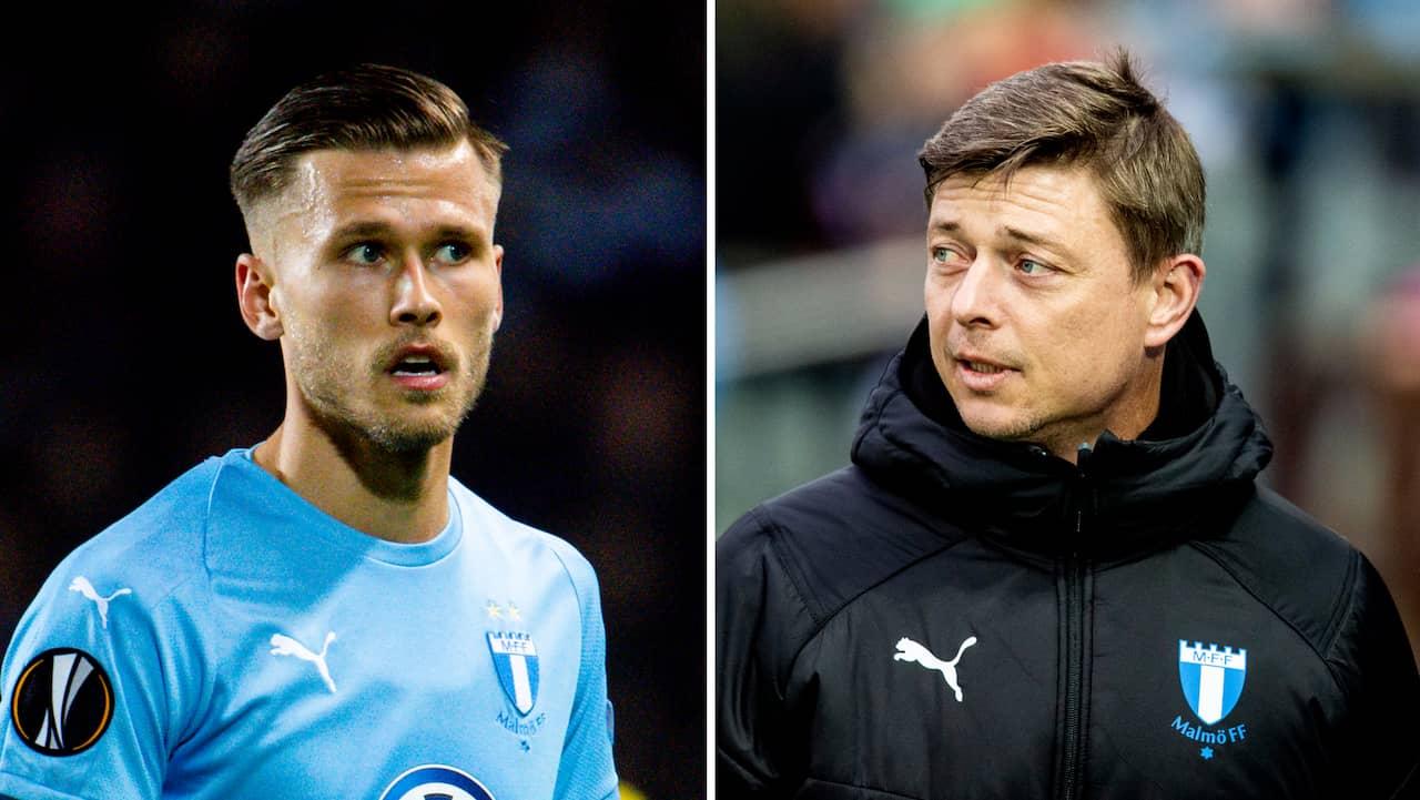 Malmö FF:s stjärna inte med på sista träningen