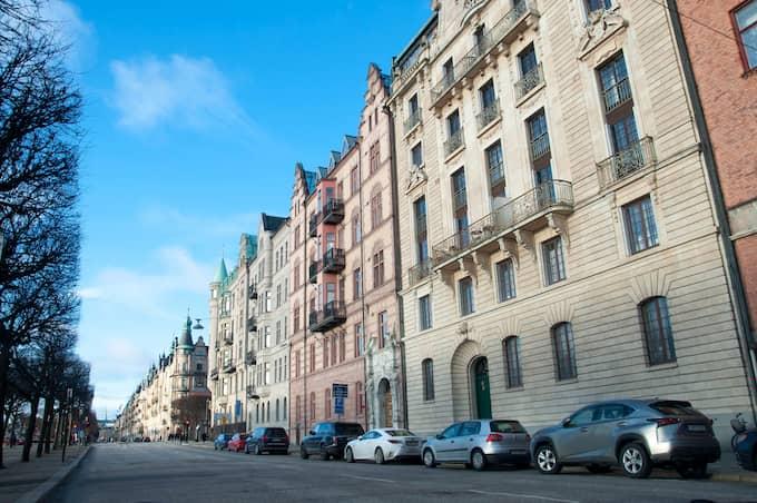 Strandvägen – dyrast bostadsrätter 2017. Foto: HENRIK ISAKSSON/IBL
