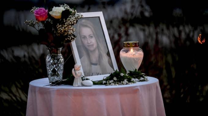 Tova Moberg, 19, hittades död. Hennes expojkvän har nu häktats misstänkt för mord. Foto: Alex Ljungdahl / ALEX LJUNGDAHL EXPRESSEN