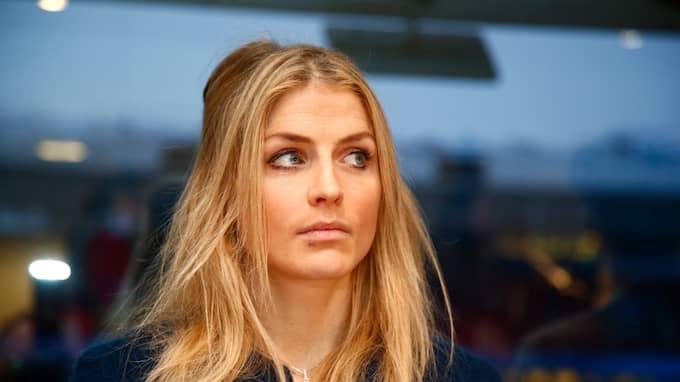 Therese Johaug under förhör efter skandalen. Foto: HEIKO JUNGE/TT / NTB SCANPIX TT NYHETSBYRÅN