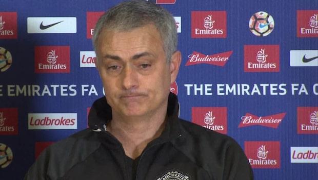 Mourinhos sarkastiska ord mot Chelsea