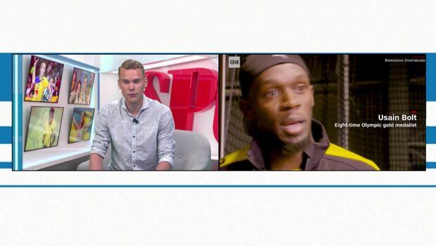 Usain Bolt provspelar i norsk fotbollsklubb