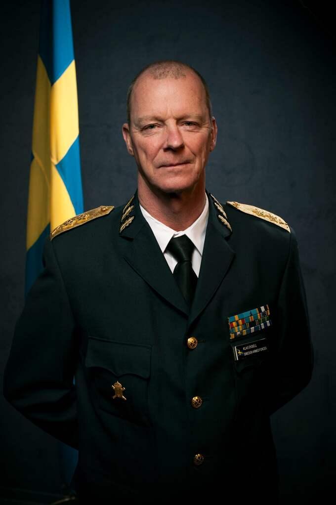 Klas Eksell, personaldirektör på Försvarsmakten, berättar att myndigheten aldrig kommer sluta arbeta med hbtq-frågor. Foto: Försvarsmakten