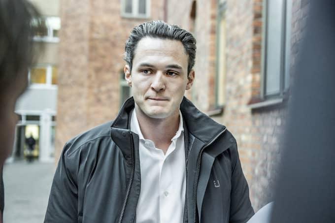 Allras vd Alexander Ernstberger förnekar brott. Foto: LARS PEHRSON / SVENSKA DAGBLADET