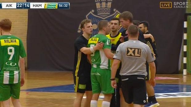 Stort bråk mellan AIK och Hammarby