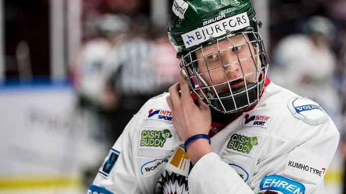 Rasmus Dahlins Frölunda åkte ur slutspelet i kvartsfinalen mot Malmö. Foto: PETTER ARVIDSON / BILDBYRÅN