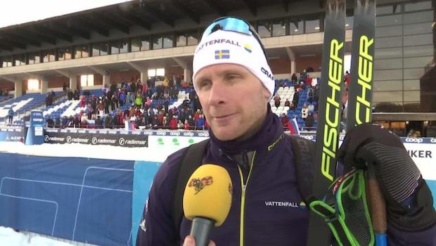 """Daniel Rickardsson: """"Kände mig stressad i åkningen"""""""