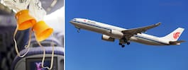 Rökande pilot tvingade flygplan att nöddyka