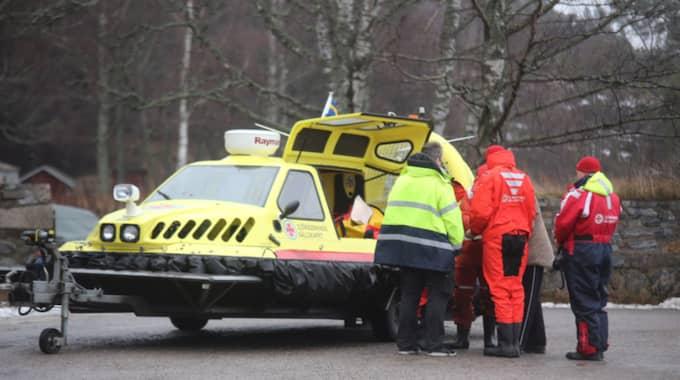 En skridskoåkare i 70-årsåldern har hittats död under tisdagsmorgonen. Foto: Janne Åkesson/Swepix