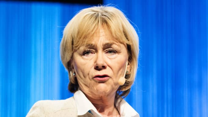 """Förra justitieministern Beatrice Ask (M) riktar skarp kritik mot regeringen: """"Märkligt att man presenterar en socialdemokratisk partikampanj som regeringspolitik"""" Foto: Anna-Karin Nilsson"""