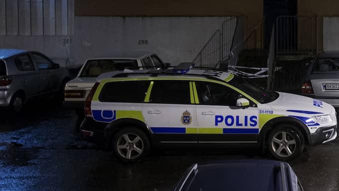 Dubbelmordet i Frölunda hösten 2016. Foto: ANDERS YLANDER