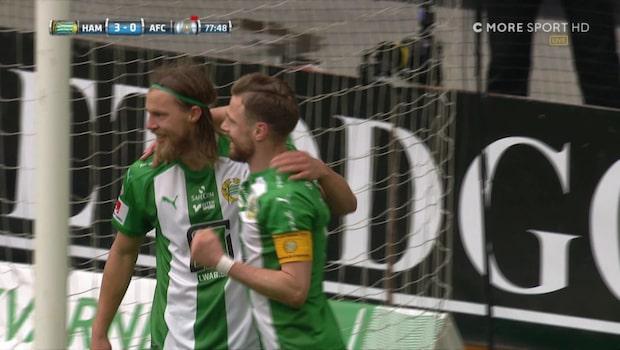 Paulsen gör sitt andra mål – petar in 3-0 för Hammarby