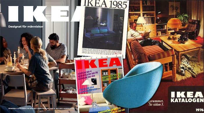 Ikea katalogen genom tiderna   Leva & bo