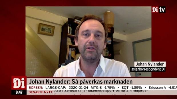 Johan Nylander: Så påverkas marknaden av Coronaviruset