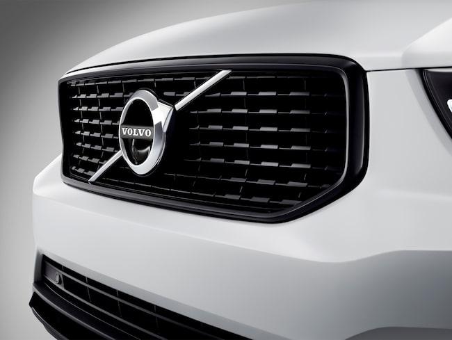 Volvo XC40 är planerad att komma som elbil 2019.