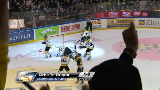 HV 71 vinner den första SM-finalmatchen