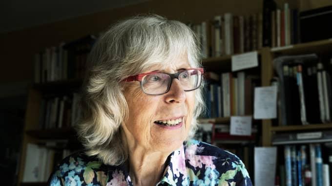 Kerstin Strandberg är författare och konstnär. Foto: THOMAS WÅGSTRÖM / ALBERT BONNIERS