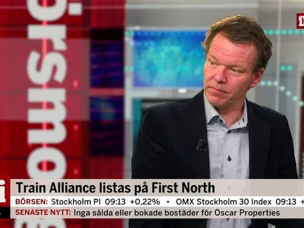 """Analytikern om Train Alliance: """"Aktien är upp 20 % jämfört med teckningskursen"""""""