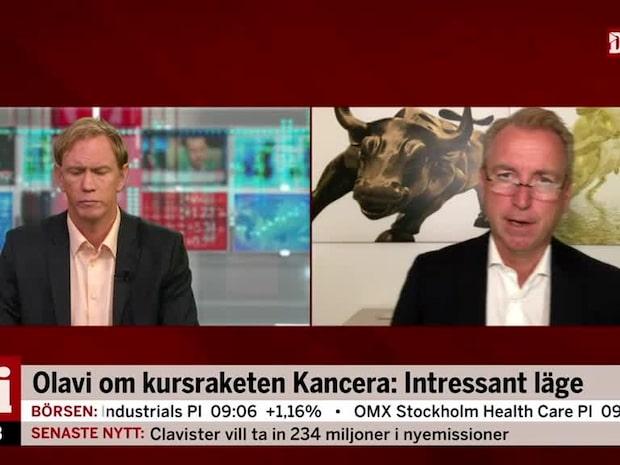 Olavi om kursraketen Kancera: Intressant läge