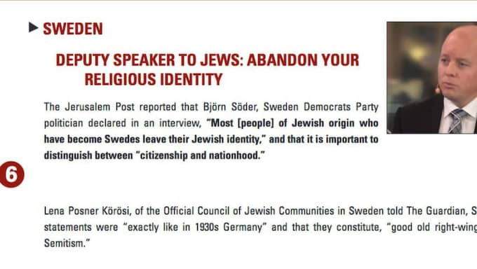 Foto: Skärmdump från Simon Wiesenthal-centret