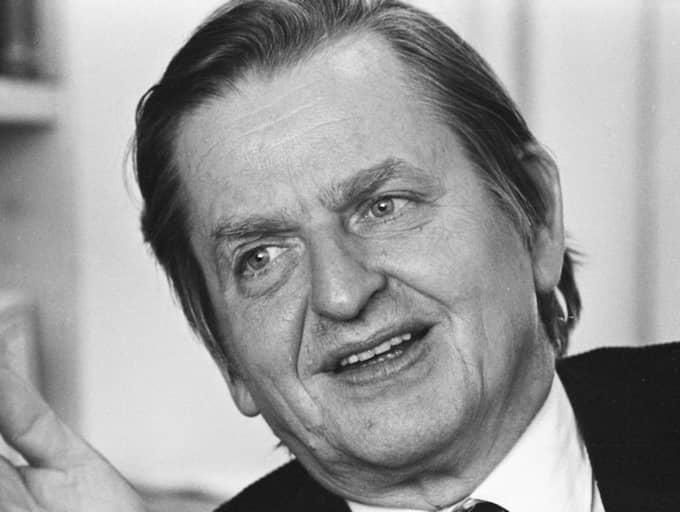 Olof Palme. Foto: Urban Brådhe