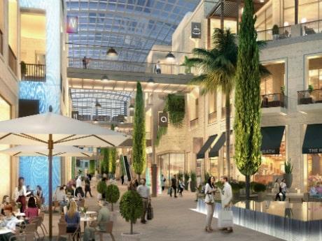 Staden är dock redan på väg att bygga en ny galleria som är dubbelt så stor.