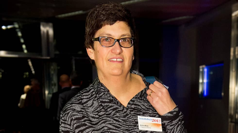 Editor-in-Chief Helle Klein is also found on the antisemitic blog. Foto: Christian Örnberg