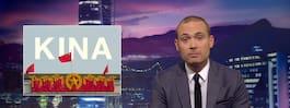 Kina protesterar hos UD efter SVT:s satirprogram