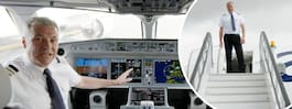 Piloten avslöjar detaljerna i cockpit på nya planet