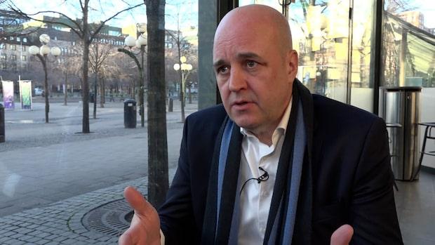 """Reinfeldt om utvecklingen: """"Jag tycker att det är fel"""""""